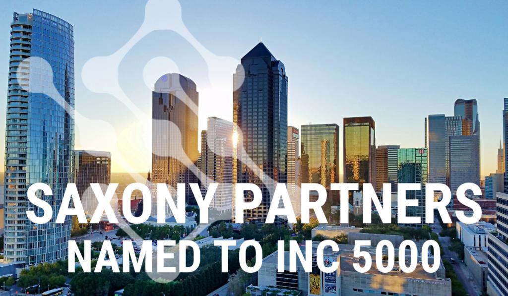 Inc 5000 List Saxony Partners