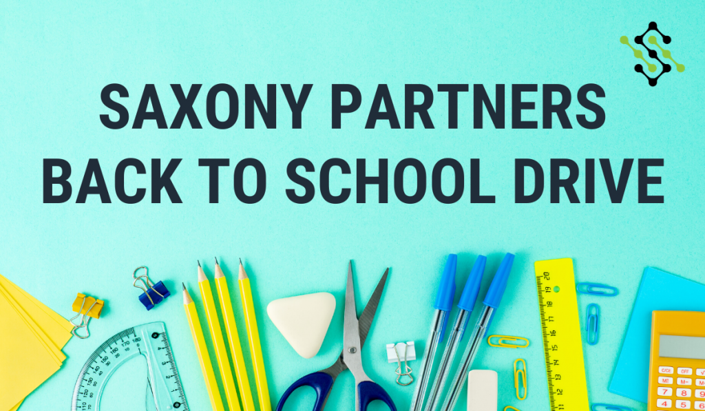 Saxony Partners Back to School Drive