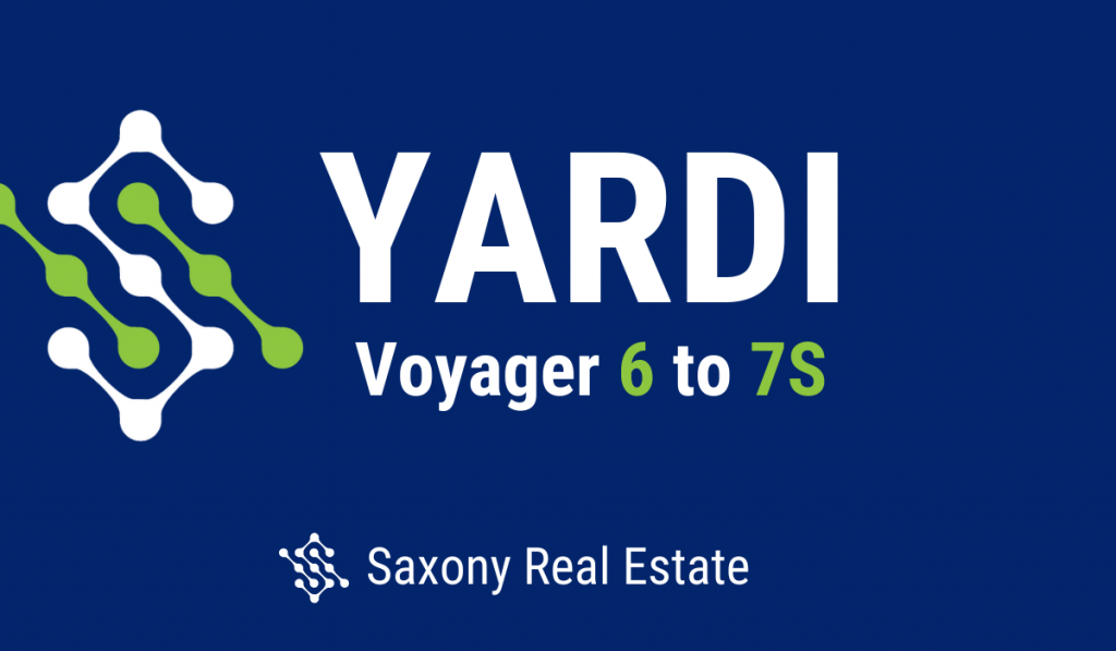 Upgrading from Yardi Voyager 6 to 7S