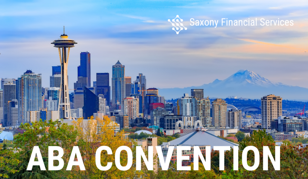 Saxony Financial Services Team ABA Annual Convention Seattle