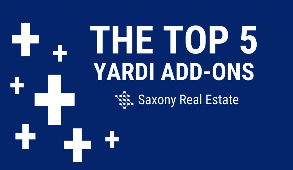 The Top 5 Yardi Add-Ons