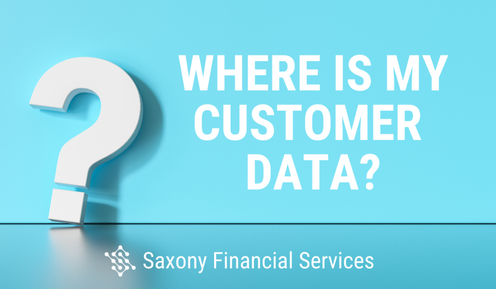 Where Is Customer Data?