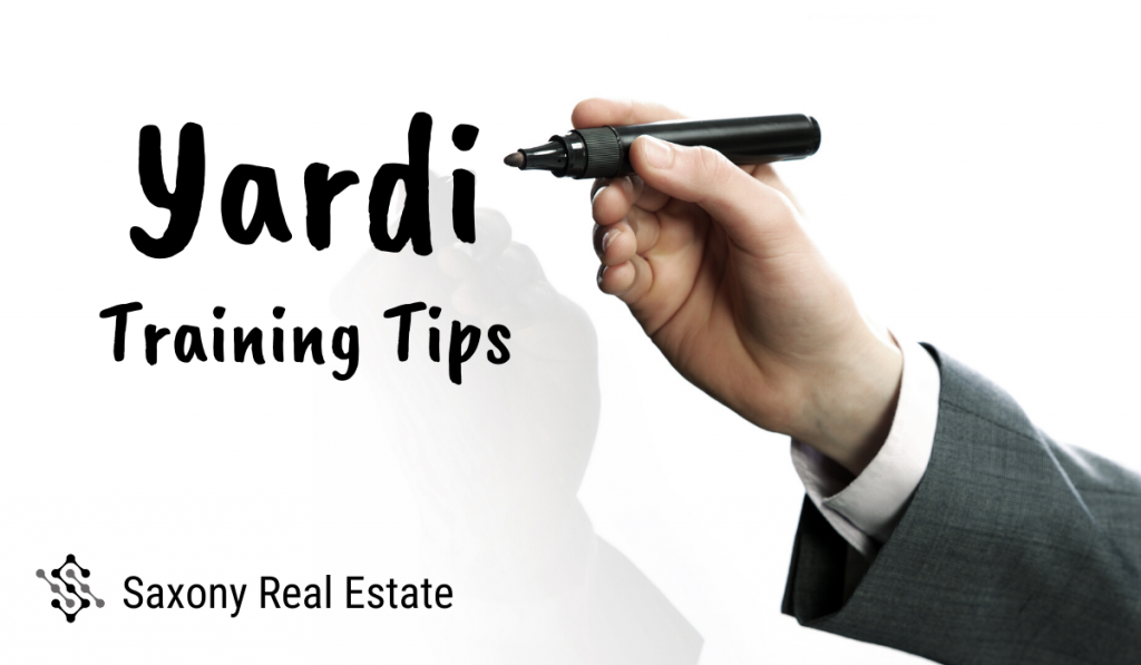 Yardi Training Tips from Our Experts